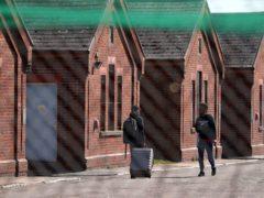 Napier Barracks in Folkestone (PA)