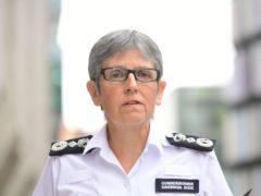 Metropolitan Police Commissioner Dame Cressida Dick (Ian West/PA).
