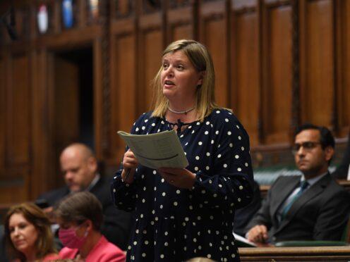 Cherilyn Mackrory (UK Parliament/Jessica Taylor/PA)