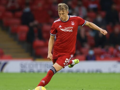 Ross McCrorie is confident Aberdeen will improve (PA)