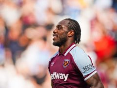 West Ham's Michail Antonio has been in red-hot form (Aaron Chown/PA)