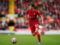 Wales Under-21 full-back Owen Beck in pre-season action for Liverpool against Athletic Bilbao (Nick Potts/PA)