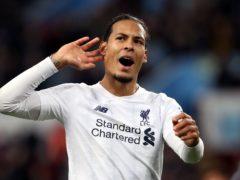 "Liverpool's Virgil Van Dijk has confirmed he is ""100 per cent fit"" after international duty (Nick Potts/PA)"