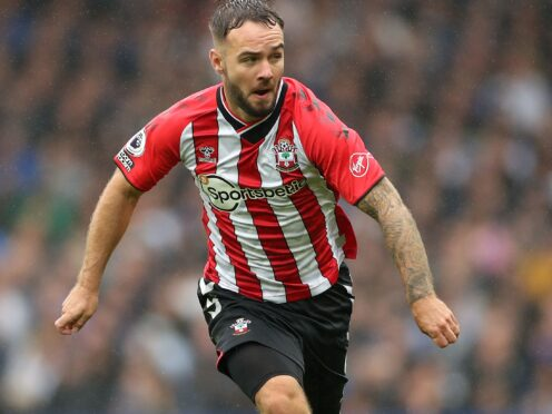 Adam Armstrong joined Southampton from Blackburn in August (Bradley Collyer/PA)