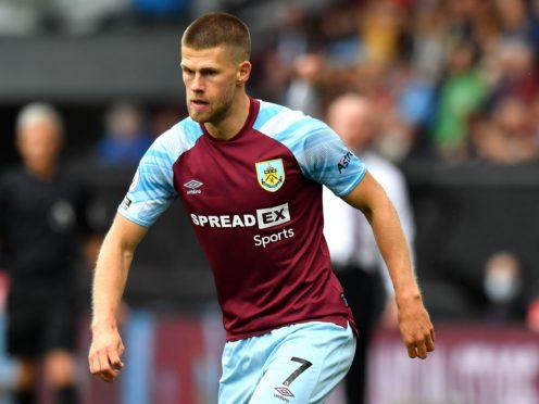 Johann Berg Gudmundsson is not overly concerned by Burnley's slow start (Anthony Devlin/PA)