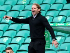 Hearts manager Robbie Neilson is preparing for Sunday's derby with Hibernian (PA)