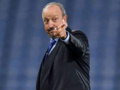 Everton boss Rafa Benitez is hoping to make it five matches unbeaten when his side face Aston Villa on Saturday (Anthony Devlin/PA)