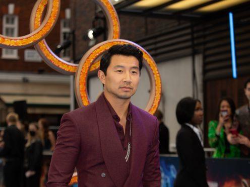 Simu Liu (James Manning/PA)