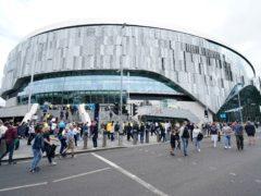 Tottenham's 63,000-seat stadium has won a major architecture prize (Mike Egerton/PA)