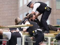 Police have been criticised over their tactics (Ian West/PA)