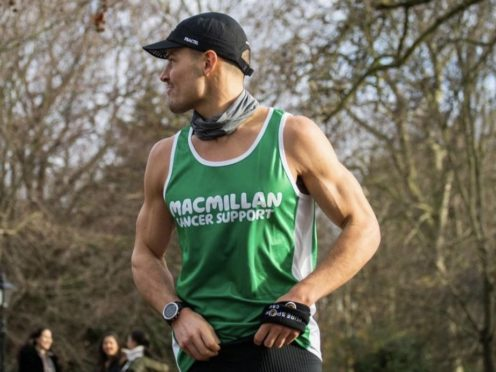 Former rugby player William Goodge is taking on 48 marathons in just 30 days (William Goodge/PA)
