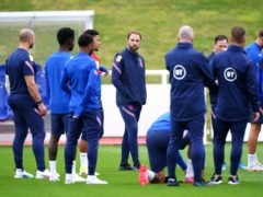 England manager Gareth Southgate during a training session at St George's Park (Mike Egerton/PA)