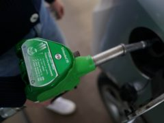 A reduction of a fraction of 1p per litre was recorded on August 23 (Joe Giddens/PA)