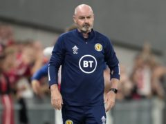 Scotland manager Steve Clarke has defended his selections after defeat to Denmark (Claus Bech/PA)