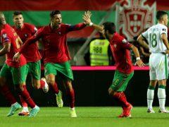 Cristiano Ronaldo scored twice against Ireland (Isabel Infantes/PA)