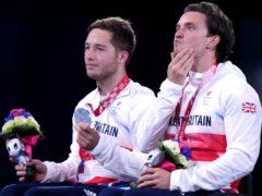 Great Britain's Gordon Reid, right, and Alfie Hewitt suffered heartache in Tokyo (Tim Goode/PA)