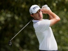 Patrick Cantlay holds a one-shot halfway lead in the Tour Championship (Brynn Anderson/AP)