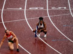 Kadeena Cox of Great Britain after finishing fourth in the Women's 400m – T38 Final at the Olympic Stadium on day eleven of the Tokyo 2020 Paralympic Games in Japan. Picture date: Saturday September 4, 2021.