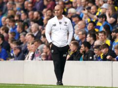 AFC Wimbledon manager Mark Robinson was full of praise for his side's second-half display (Tess Derry/PA).