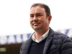 Derek Adams will again be without captain Niall Canavan (Zac Goodwin/PA)