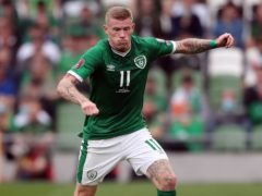 Republic of Ireland's James McClean is desperate to play more tournament football (Niall Carson/PA)