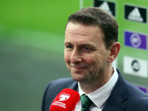 Ian Baraclough wants to stay as Northern Ireland boss beyond the World Cup qualifying campaign (Brian Lawless/PA)