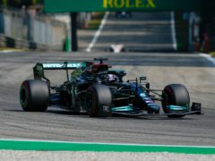 Lewis Hamilton could only manage fifth place in the sprint race at the Italian Grand Prix (Antonio Calanni/AP).