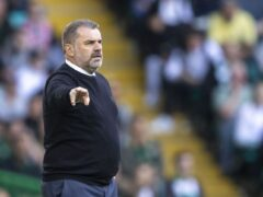Celtic manager Ange Postecoglou (Jeff Holmes/PA)