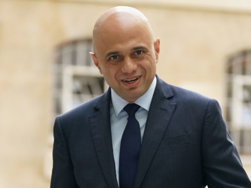 Health Secretary Sajid Javid as he arrives at BBC Broadcasting House, London, to appear on the BBC1 current affairs programme, The Andrew Marr show (Yui Mok/PA)