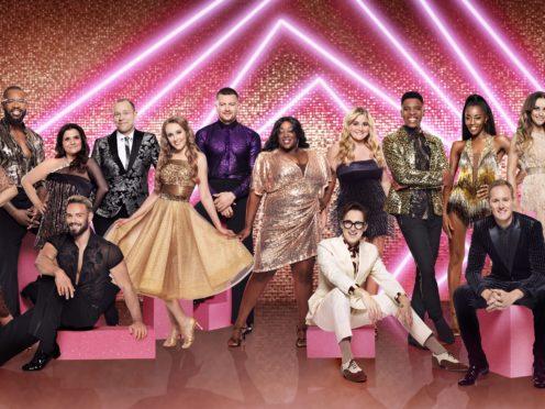 The Strictly Come Dancing contestants (Ray Burmiston/BBC/PA)