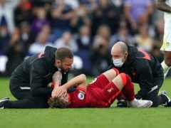 Harvey Elliott suffered a serious injury at Elland Road (Mike Egerton/PA)