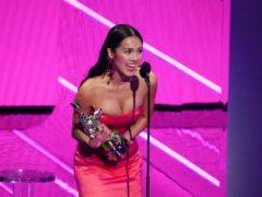 Olivia Rodrigo was among the winners at the MTV Video Music Awards (Charles Sykes/Invision/AP)