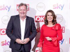 Piers Morgan and Susanna Reid (Ian West/PA)