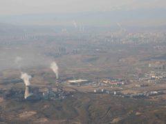 The Urumqi Thermal Power Plant in western China's Xinjiang Uyghur Autonomous Region (Mark Schiefelbein/AP)