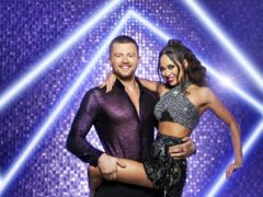 Adam Peaty and Katya Jones who have been paired together for this year's BBC1's Strictly Come Dancing (BBC/PA)