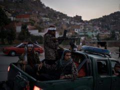 Taliban fighters in Kabul (Felipe Dana/AP)
