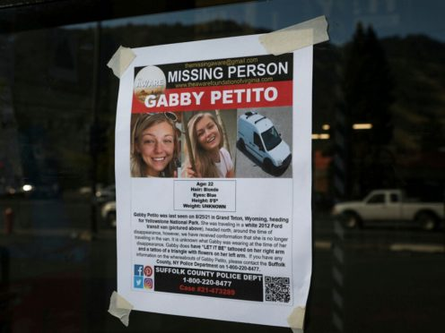 Gabby Petito, 22, vanished while on a cross-country trip in a converted camper van with her boyfriend. (Amber Baesler/AP)
