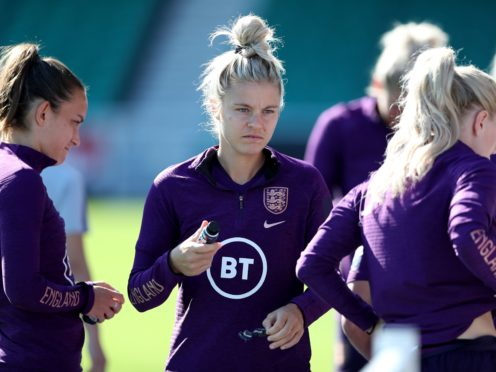 England's Rachel Daly during a training session at the Silverlake Stadium (Kieran Cleeves/PA)