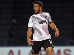 Conor Washington could be a doubt for Charlton (Steven Paston/PA)
