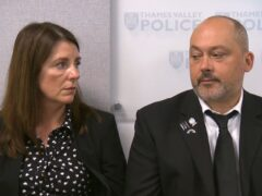 Stuart and Amanda Stephens (ITV/PA)
