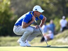 Rory McIlroy was left out of a Ryder Cup session for the first time in his career on Saturday (Anthony Behar/PA)