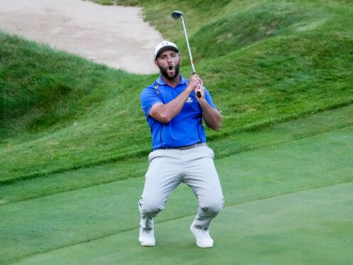Europe will have to make history to retain the Ryder Cup after suffering their worst opening day under the current format at a windswept Whistling Straits (Ashley Landis/AP)