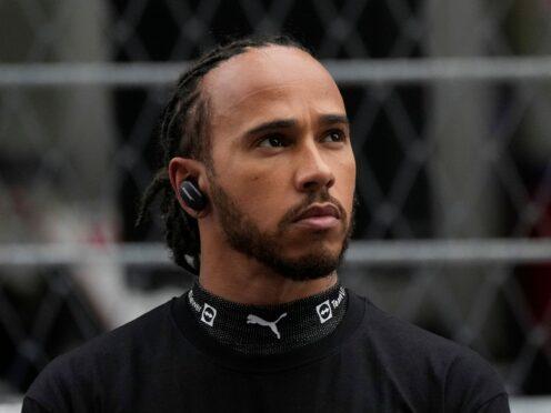 Lewis Hamilton reached a milestone in Sochi (Sergei Grits/AP)
