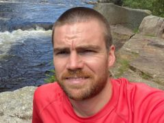 Liam Finlayson, 35, died after falling from his bicycle (Police Scotland/PA)