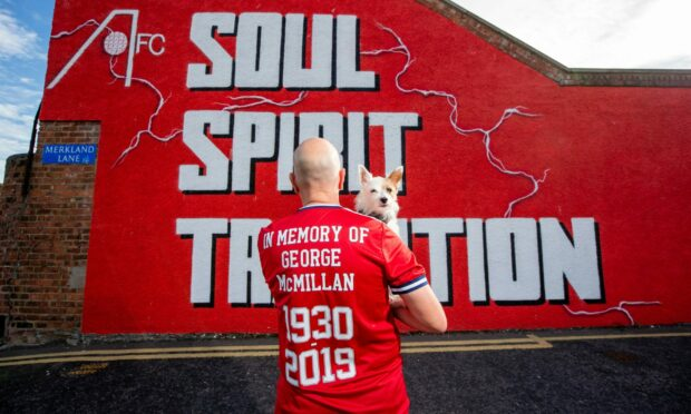 In the name of the father: How son of former Aberdeen player George McMillan will honour his dad