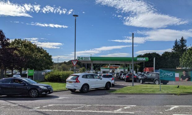 Panic at the Pumps: Queues grow as motorists fear fuel shortages