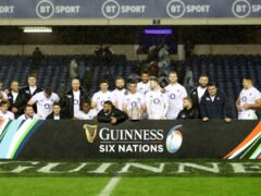 The Scottish Government is being urged to act on alcohol sponsorship within sport, in the wake of new research looking at the number of references to drink fans would have seen in rugby's Six Nations – including in England's Calcutta Cup win in 2020 (David Davies/PA).