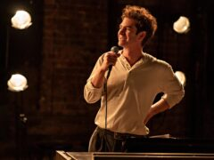 Andrew Garfield suffers for his art in the trailer for Netflix musical Tick, Tick…Boom! (Macall Polay/Netflix/PA)