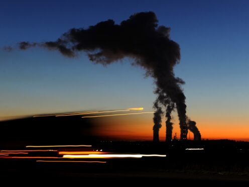 Coal has grown strongly this year despite climate efforts, the IEA says (Andrew Matthews/PA)