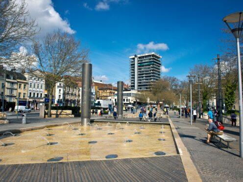 Bristol city centre (Ben Birchall/PA)